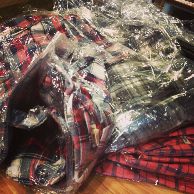 More plaid has arrived!