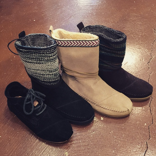 Select TOMS boots now 50% off!