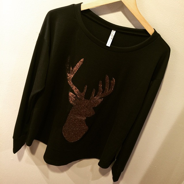 New deer antler top $45!
