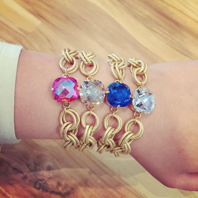 How beautiful are these new Helen Marie bracelets?