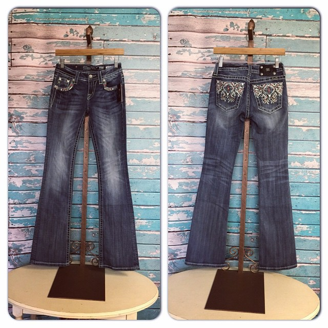 New Miss Me Boot Cut jeans just in! $99.50