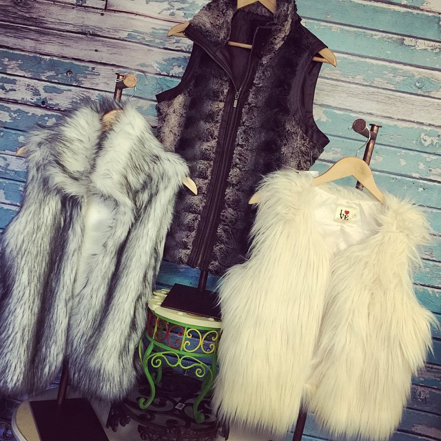 These 3 fur vest are now being added to our 50% off rack! Hurry in and grab your favorites today!