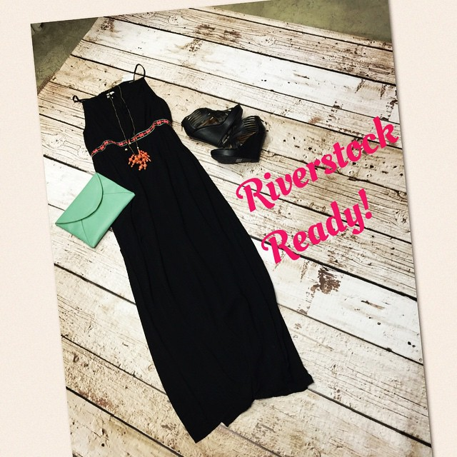 Get Riverstock ready with this perfect maxi! $40.00