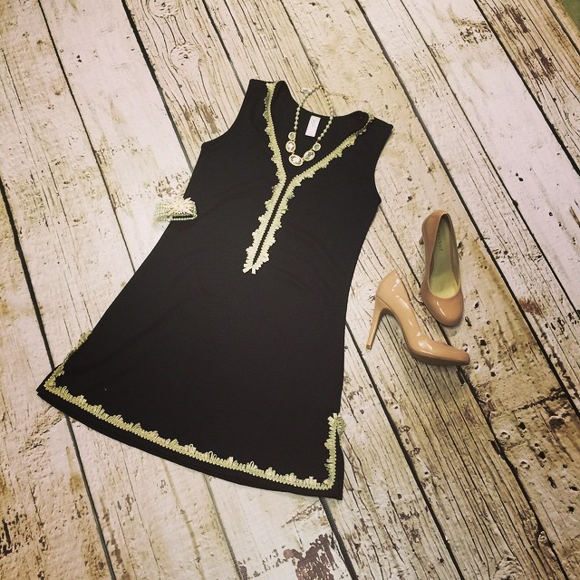 Have a wedding or special event coming up? This outfit makes for the perfect attire for any occasion! Dress $98 Shoes $40 Necklace $32 Bracelet $22