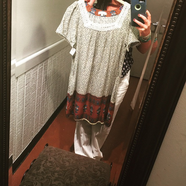 Picturing how perfect this new sundress is going to look on!  Get this fabulous piece today for $36!