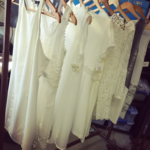 It's Graduation time! Stop by to receive 30% off of our great selection of white dresses!
