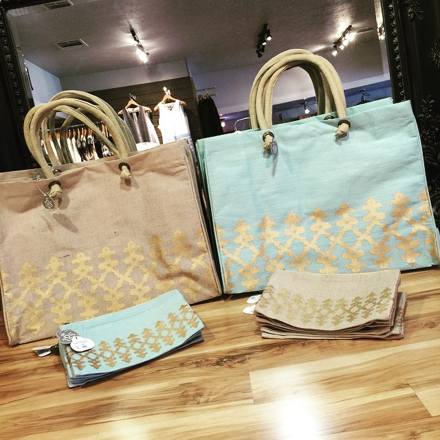 New Orleans Glamour Juco Tote & Cosmetic Bags! Totes $26.50 Cosmetic $8.50